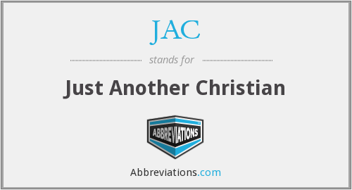 JAC - Just Another Christian
