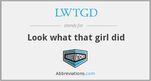 What does LWTGD stand for?