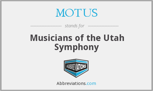 MOTUS - Musicians of the Utah Symphony