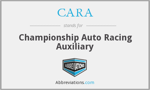 CARA - Championship Auto Racing Auxiliary