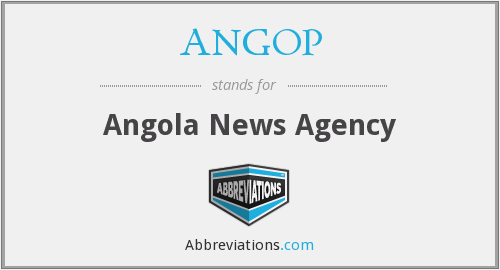 What does ANGOP stand for?