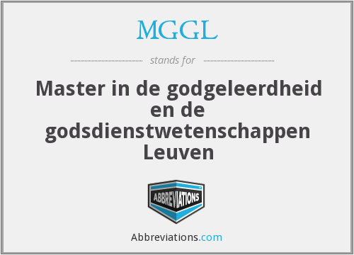 What does MGGL stand for?
