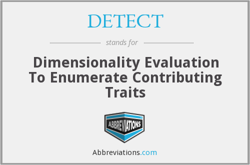 What does enumerate stand for?