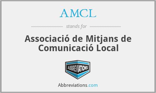 AMCL - Associació de Mitjans de Comunicació Local