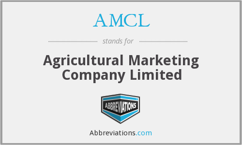 AMCL - Agricultural Marketing Company Limited