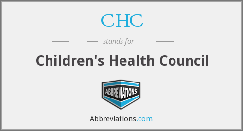 What does CHC stand for?