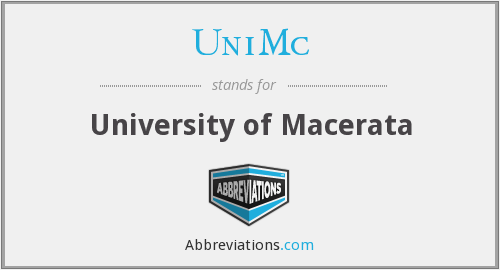 What does UNIMC stand for?