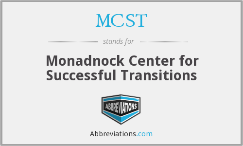 MCST - Monadnock Center for Successful Transitions