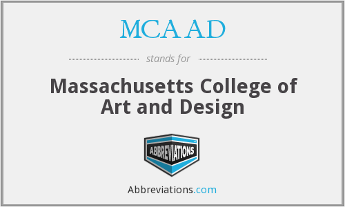 What does MCAAD stand for?