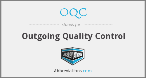 What does OQC stand for?