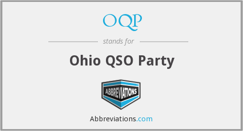 What does OQP stand for?