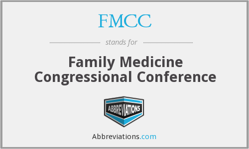 FMCC - Family Medicine Congressional Conference