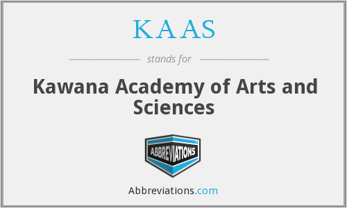 What does KAAS stand for?