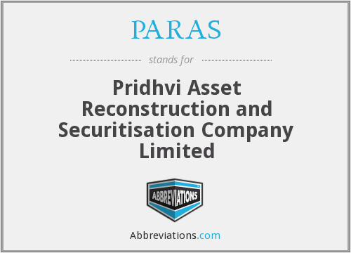 What does PARAS stand for?