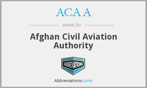 ACAA - Afghan Civil Aviation Authority