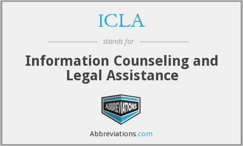 ICLA - Information Counseling and Legal Assistance