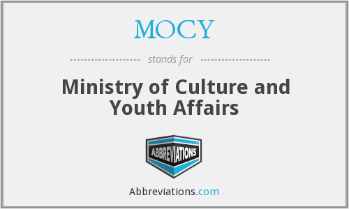 MOCY - Ministry of Culture and Youth Affairs