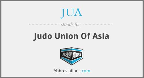 JUA - Judo Union Of Asia