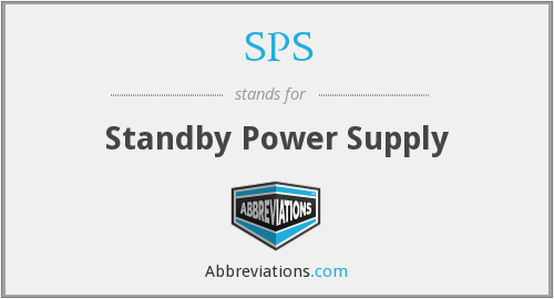 SPS - Standby Power Supply