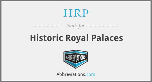 HRP - Historic Royal Palaces