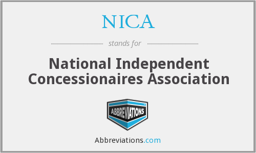 NICA - National Independent Concessionaires Association