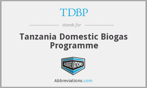 What does TDBP stand for?