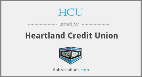HCU - Heartland Credit Union