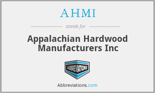 What does AHMI stand for?
