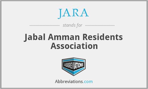 JARA - Jabal Amman Residents Association
