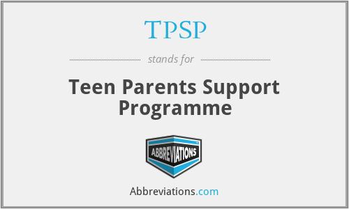 TPSP - Teen Parents Support Programme