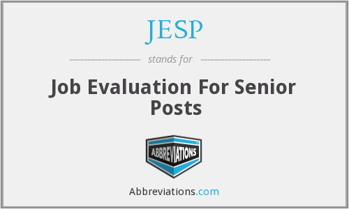 What does JESP stand for?