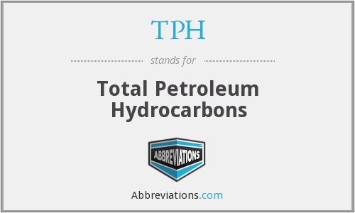 TPH - Total Petroleum Hydrocarbons