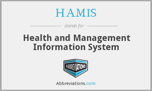 What does HAMIS stand for?
