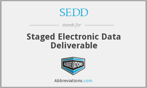 What does SEDD stand for?