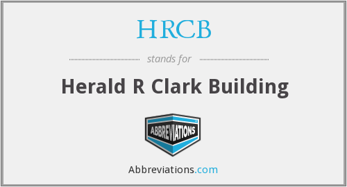 What does HRCB stand for?