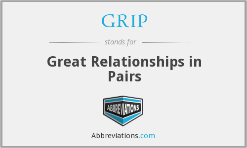 What does GRIP stand for? — Page #2