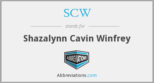 What does SCW stand for? — Page #2