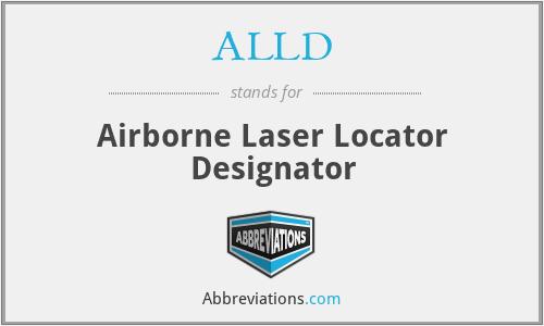 ALLD - Airborne Laser Locator Designator