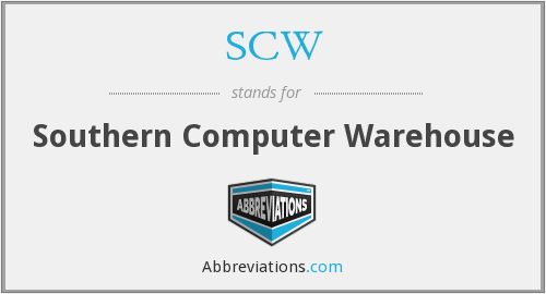 SCW - Southern Computer Warehouse