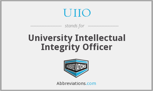 What does UIIO stand for?