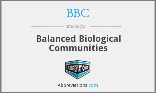 BBC - Balanced Biological Communities