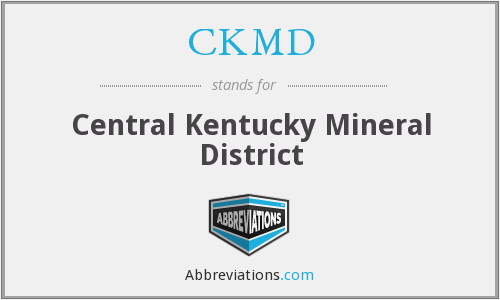 What does CKMD stand for?