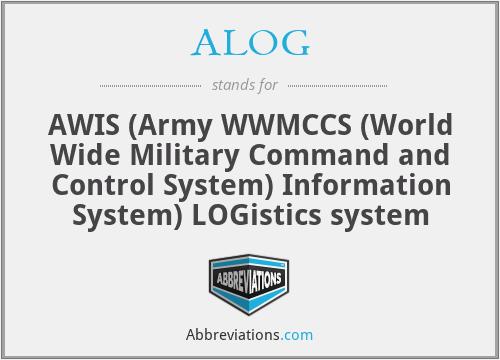 ALOG - AWIS Logistics