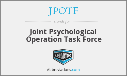 What does JPOTF stand for?