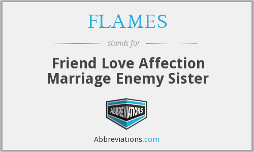 What is the abbreviation for Friend Love Affection Marriage Enemy