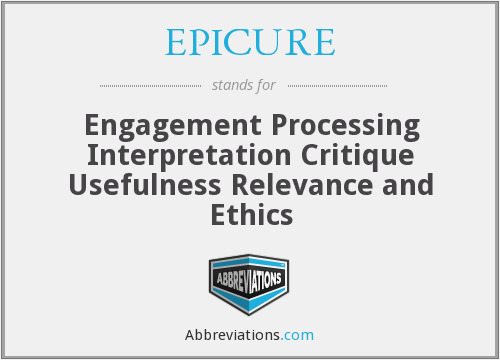 What does EPICURE stand for?