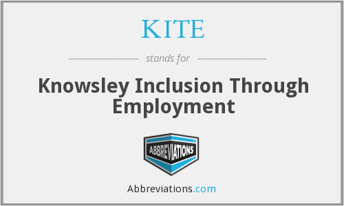 KITE - Knowsley Inclusion Through Employment