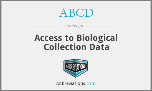ABCD - Access to Biological Collection Data