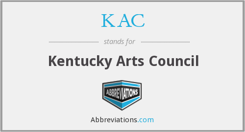 KAC - Kentucky Arts Council