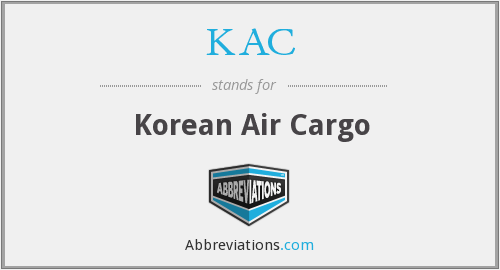 What does KAC stand for? — Page #2